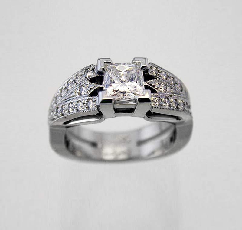 Wedding Rings Kingstone Custom Jeweller in Langley BC Canada